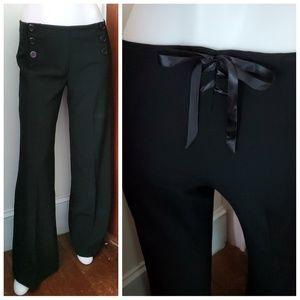 ANTHROPOLOGIE Elevenses sailor trouser corset pant